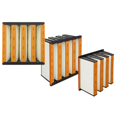 V-cell filters